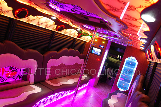 Elite Chicago Party Bus